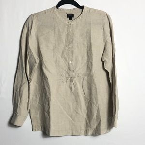 J. Crew Baird McNutt Irish Linen top